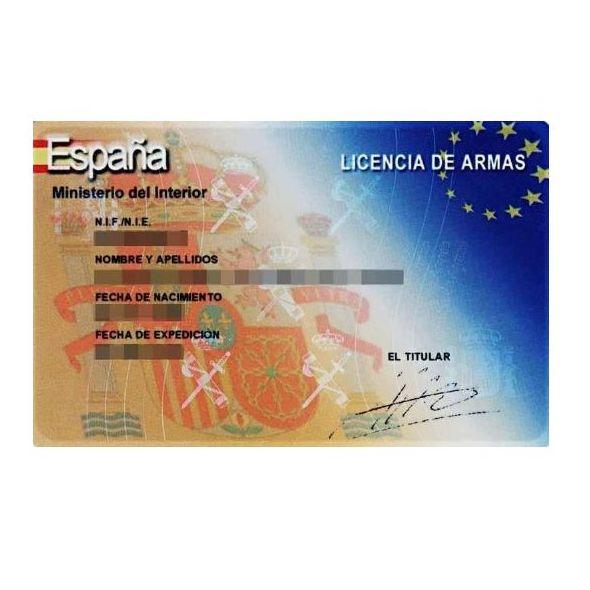 Renovación / Obtención Licencia de armas (25€)