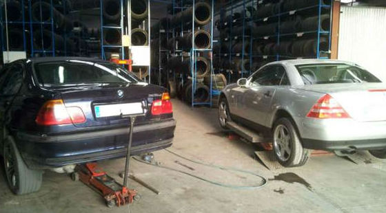Taller de neumáticos en Murcia