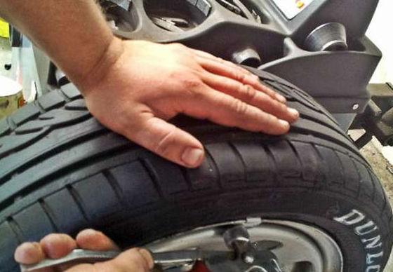Neumáticos procedentes de renting