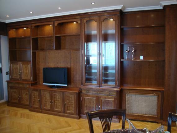 mueble de salon clasico