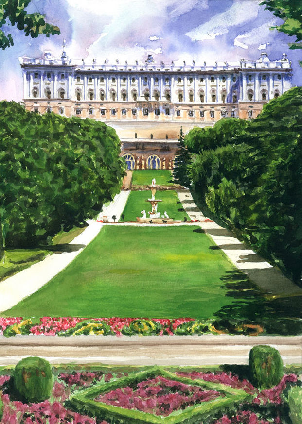 Jardines Palacio Real