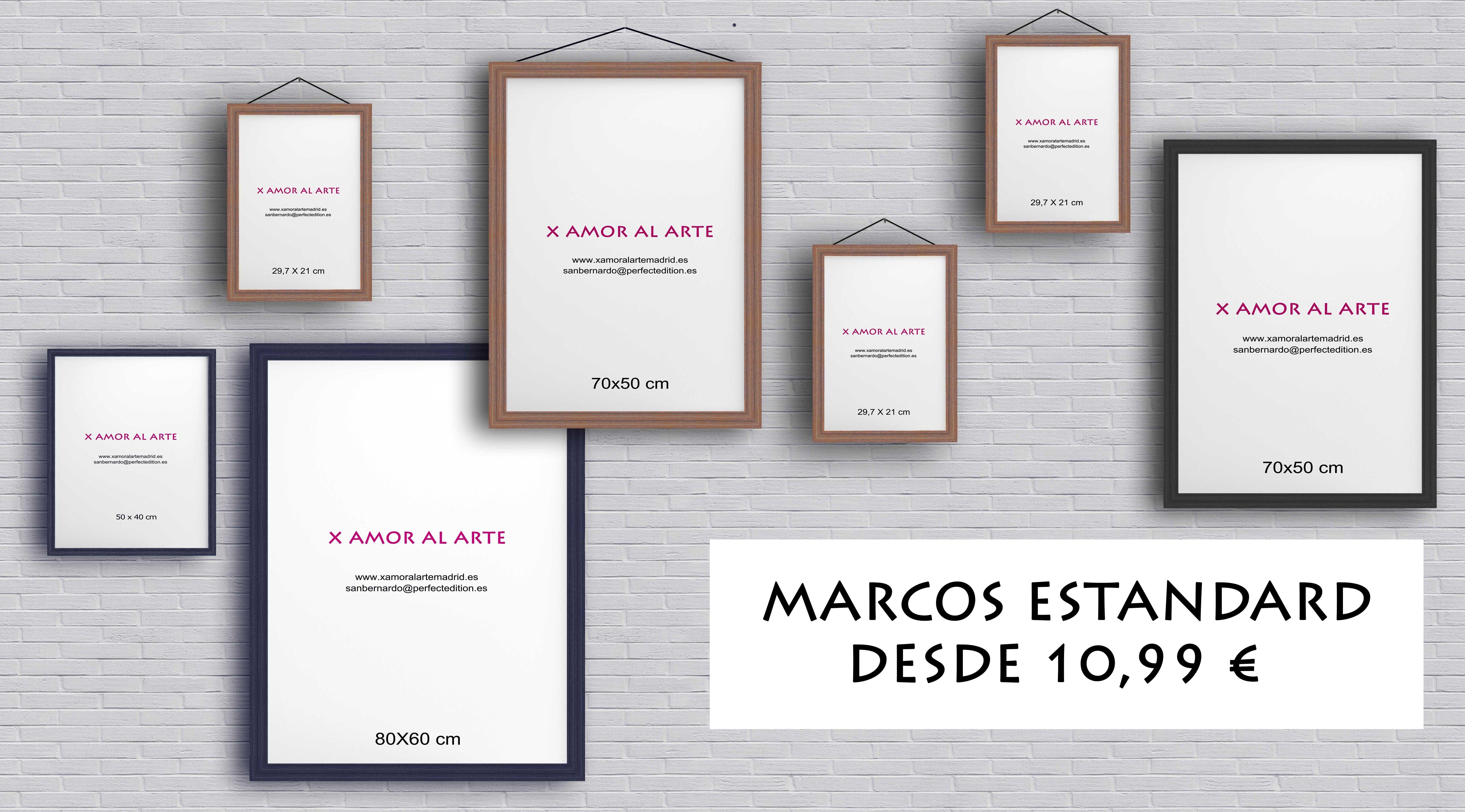 Oferta marcos estandard: Catálogo de X Amor Al Arte