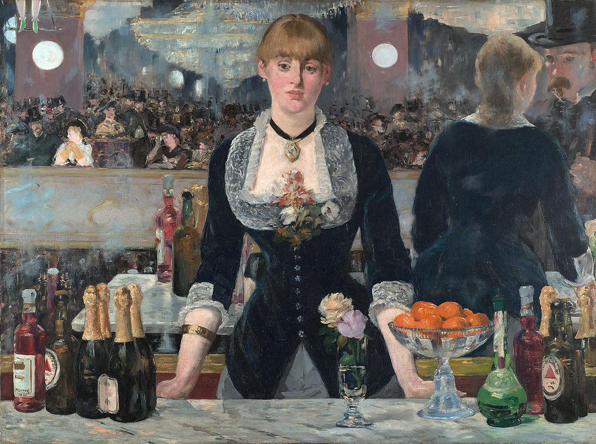 Un Bar de Folies-Bergére. Manet.: CATALOGO de Quadrocomio La Casa de los Cuadros desde 1968