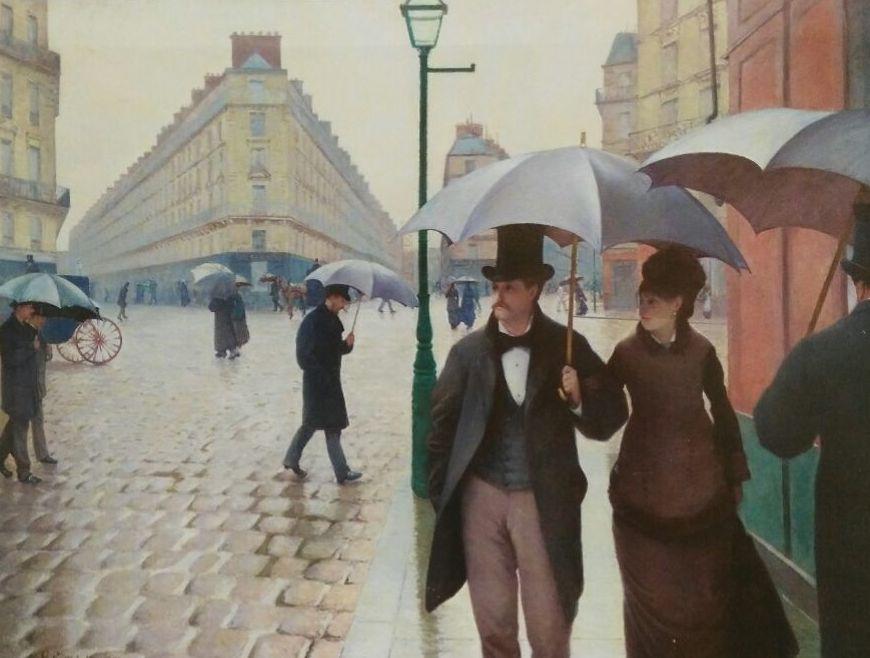 Caillebotte. Tarde lluviosa en París (HOR)t3: CATALOGO de Quadrocomio La Casa de los Cuadros desde 1968