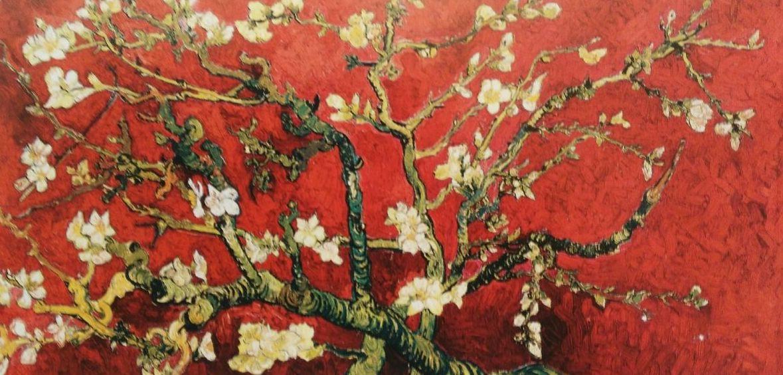 Van Gogh, Variación en rojo del almendro.: CATALOGO de Quadrocomio La Casa de los Cuadros desde 1968