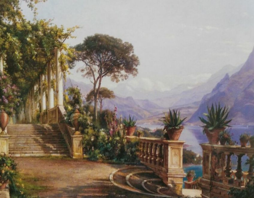 Aagaard. Lago Como. (HOR)t3: CATALOGO de Quadrocomio La Casa de los Cuadros desde 1968