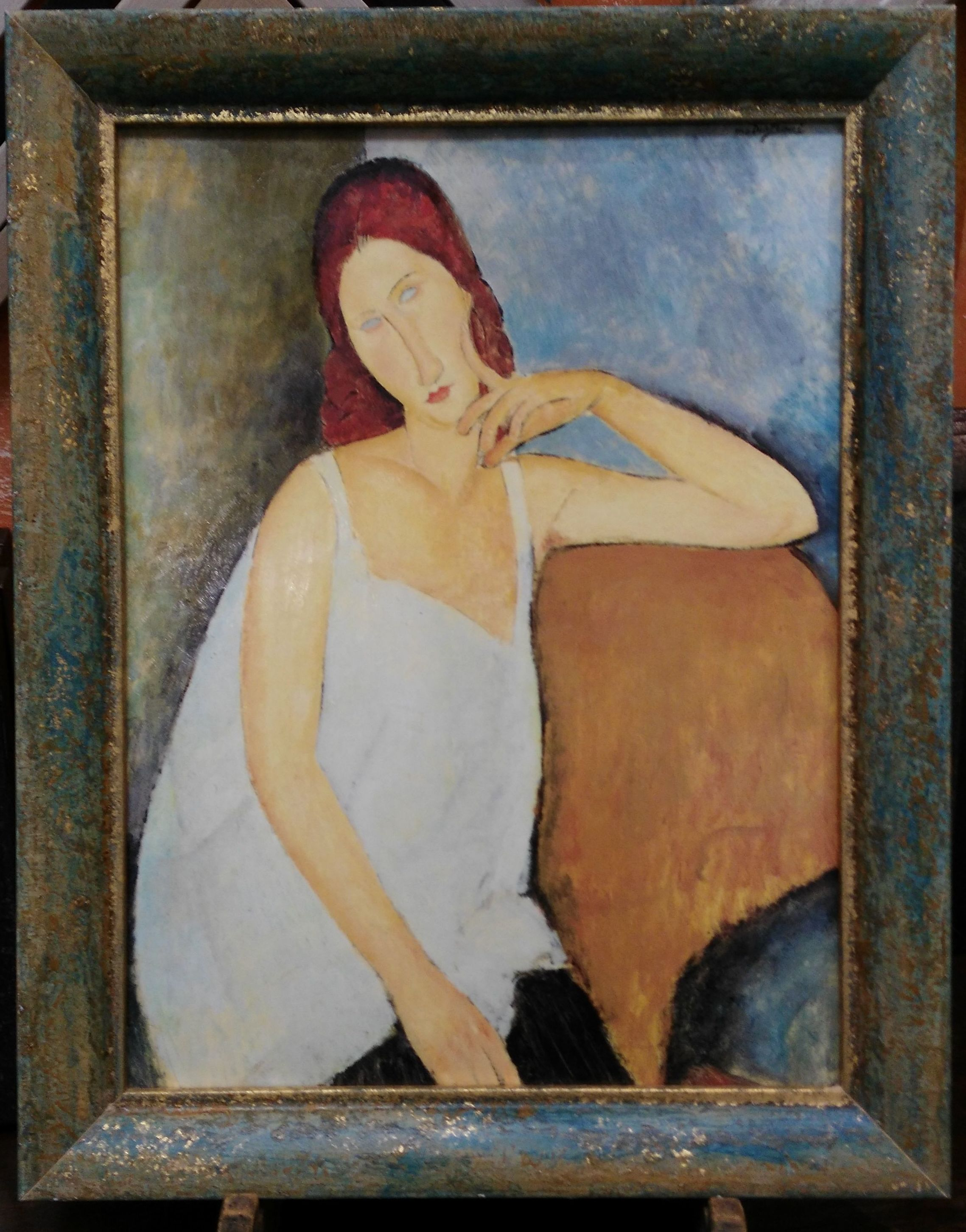 Mujer Modigliani: CATALOGO de Quadrocomio La Casa de los Cuadros desde 1968