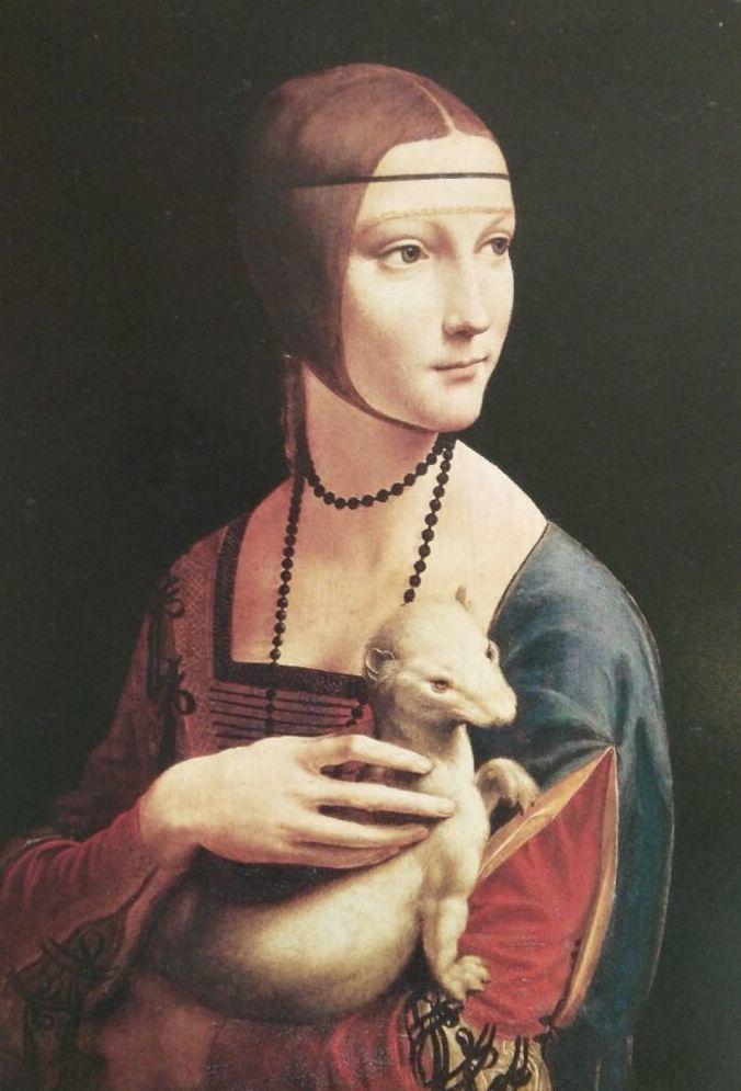 Da Vinci. La Dama del Armiño.(VER) t3: CATALOGO of Quadrocomio La Casa de los Cuadros desde 1968