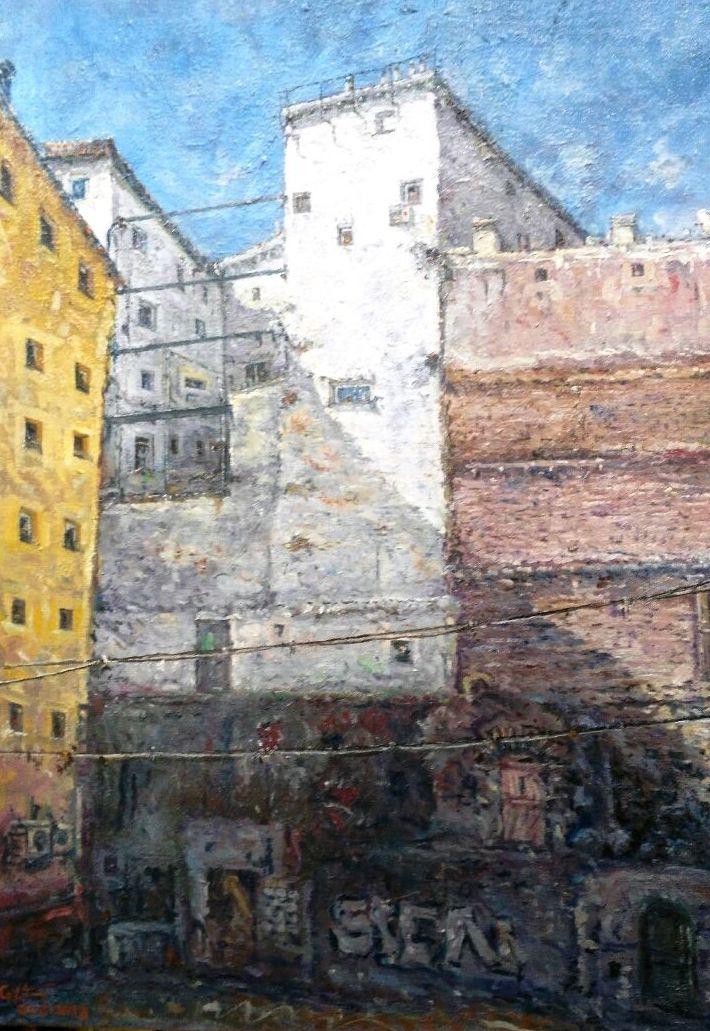 Calle Escalinata. Madrid.: CATALOGO de Quadrocomio La Casa de los Cuadros desde 1968