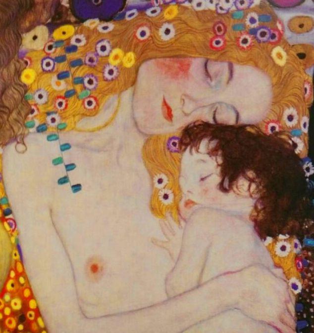 Klimt. Las tres edades, detalle. (CUA) t1: CATALOGO de Quadrocomio La Casa de los Cuadros desde 1968