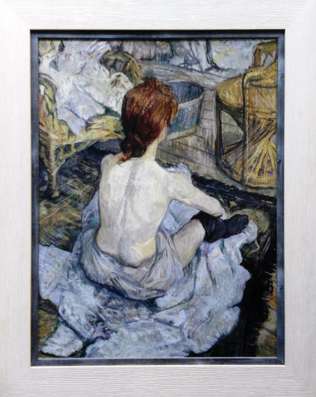 Bailarina descansando. Degas.: CATALOGO de Quadrocomio La Casa de los Cuadros desde 1968