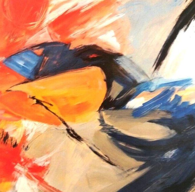Stone. Naranjas y azules.(CUA) t1: CATALOGO de Quadrocomio La Casa de los Cuadros desde 1968
