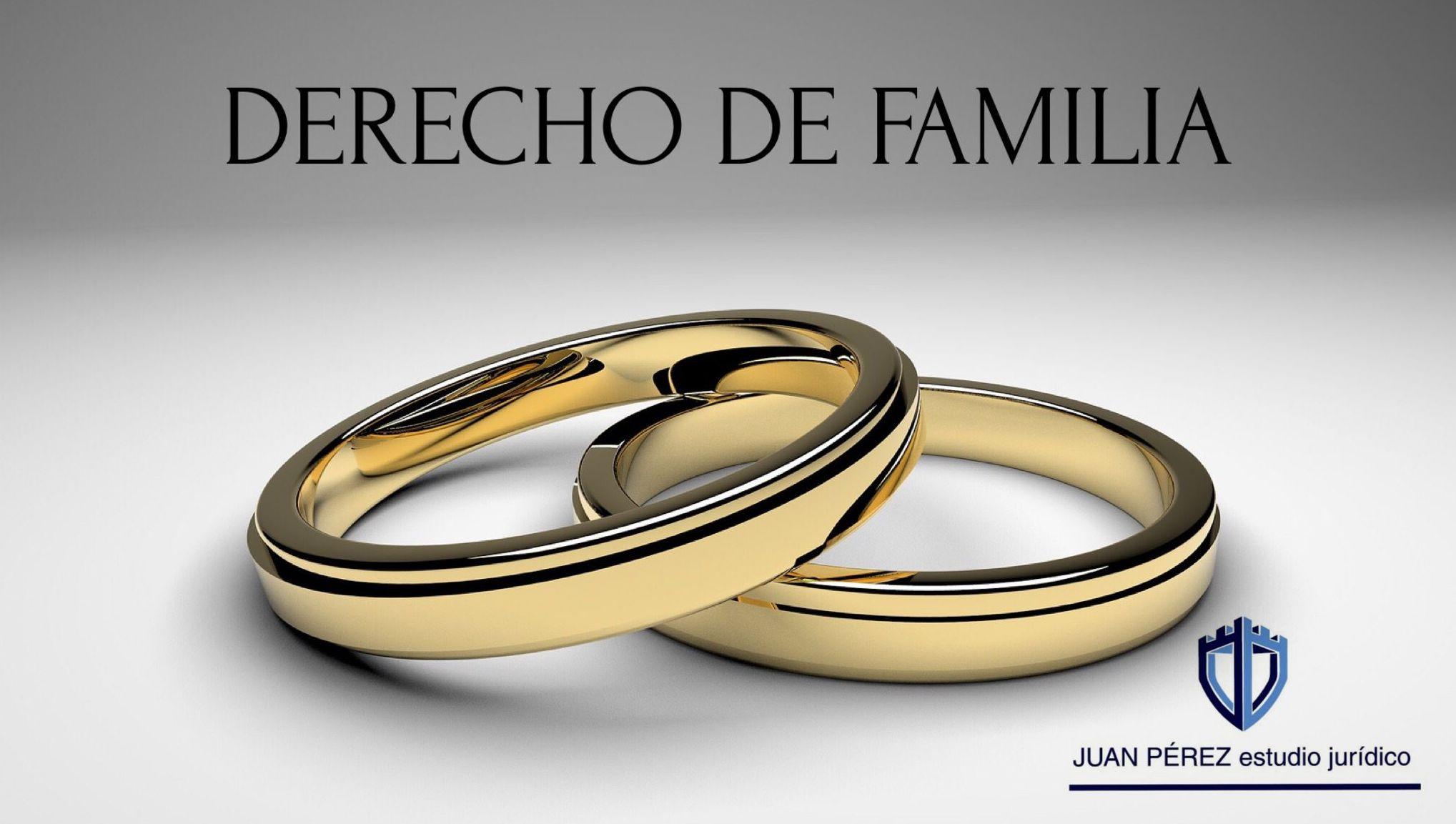 Derecho de familia: Servicios de Juan Pérez - Estudio Jurídico