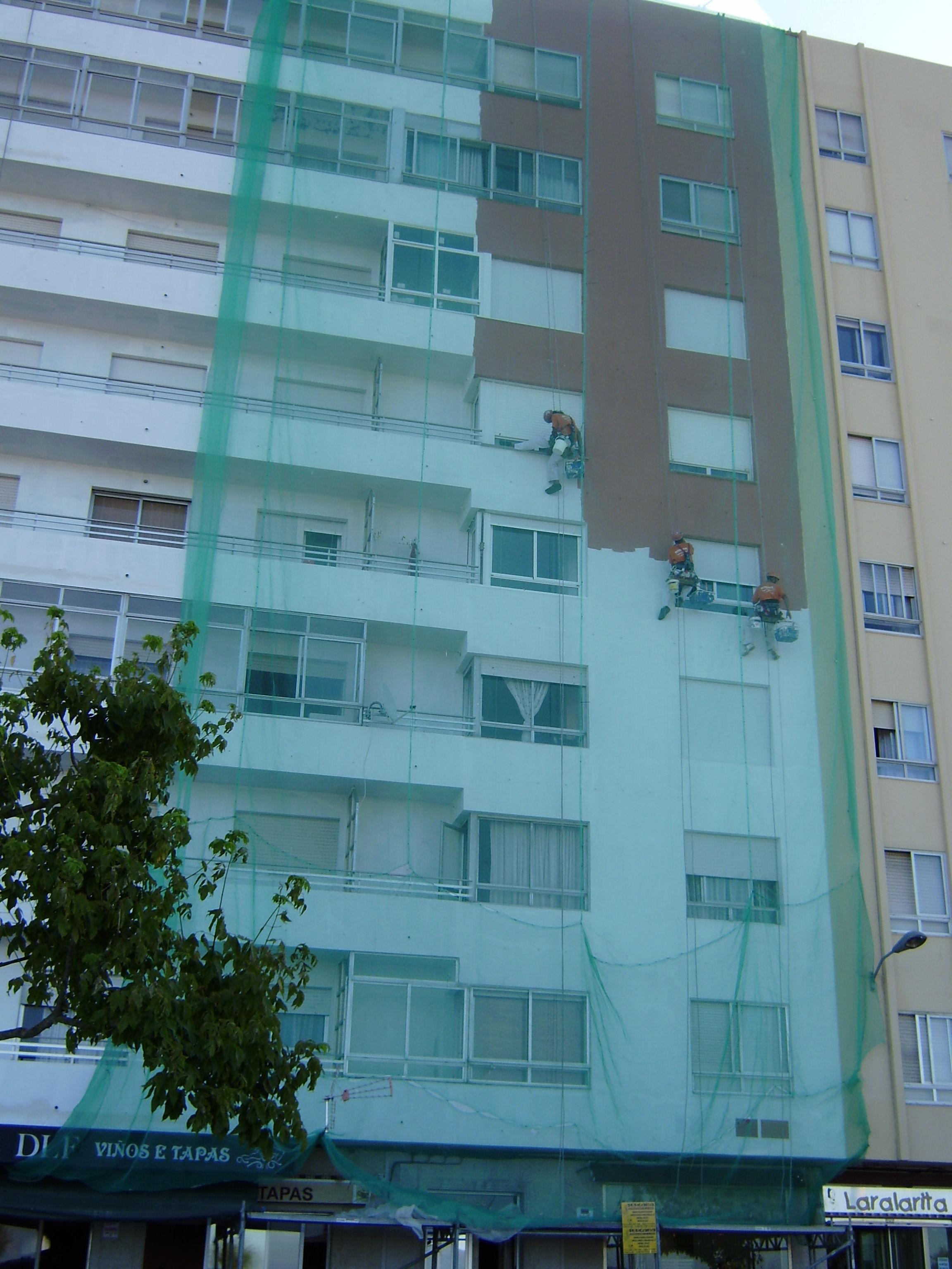 Rehabilitación de fachada en Cambados