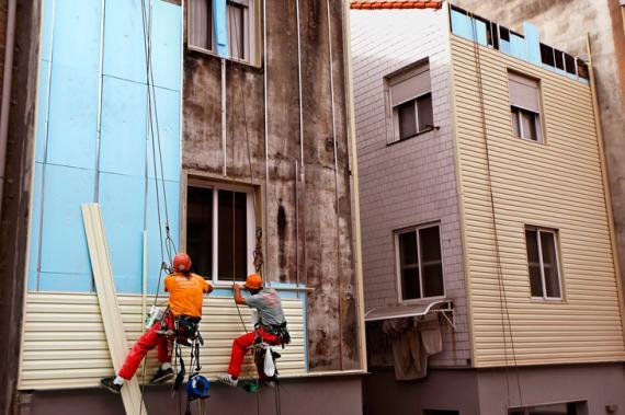 Foto 20 de Trabajos verticales en O Grove | Sergama Reparaciones de Altura