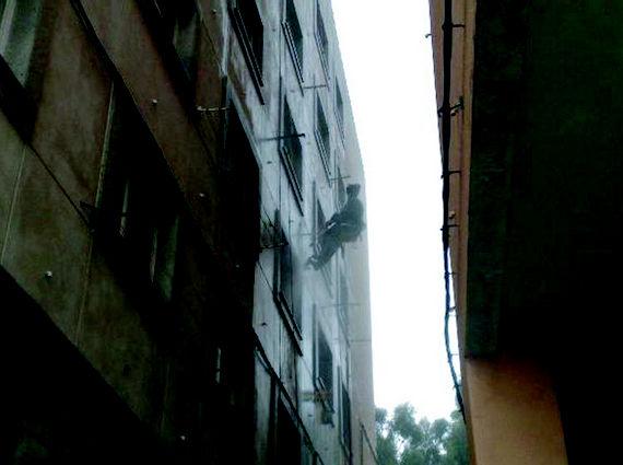 Foto 17 de Trabajos verticales en O Grove   Sergama Reparaciones de Altura