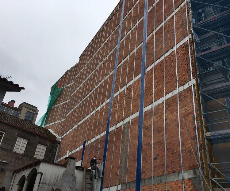 Aislamiento de fachadas en Pontevedra