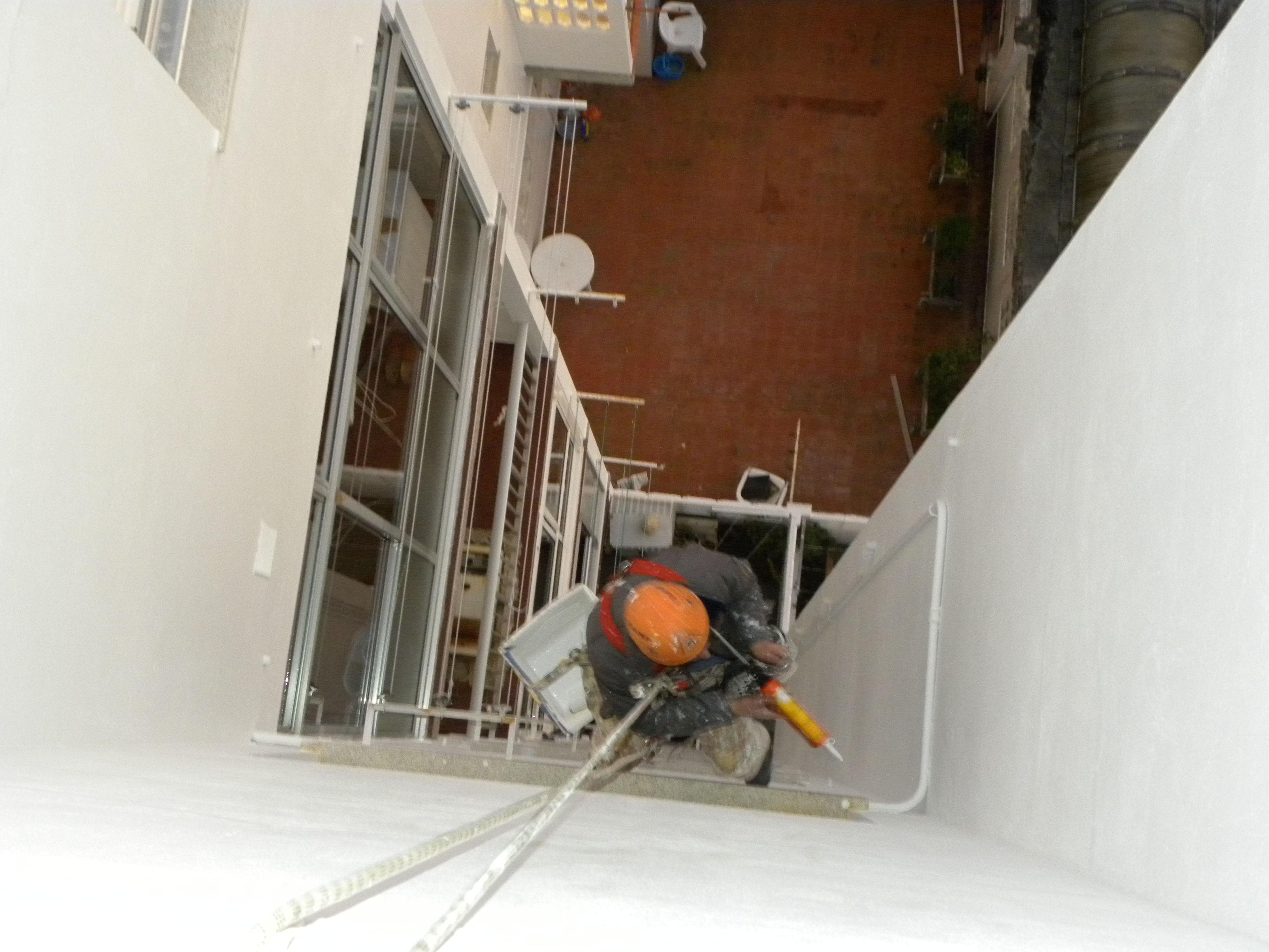 Rehabilitación de fachada en Pontevedra.