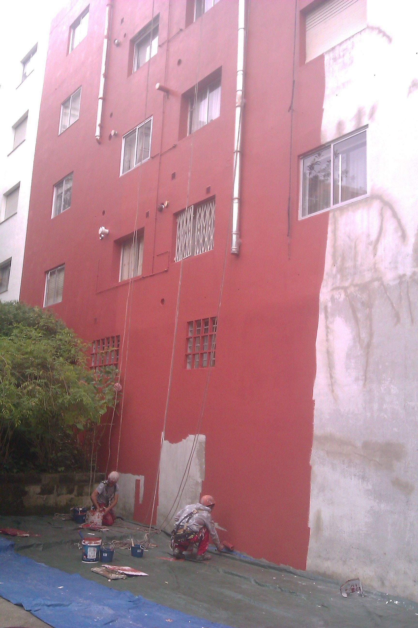Rehabilitación de fachada en Marín