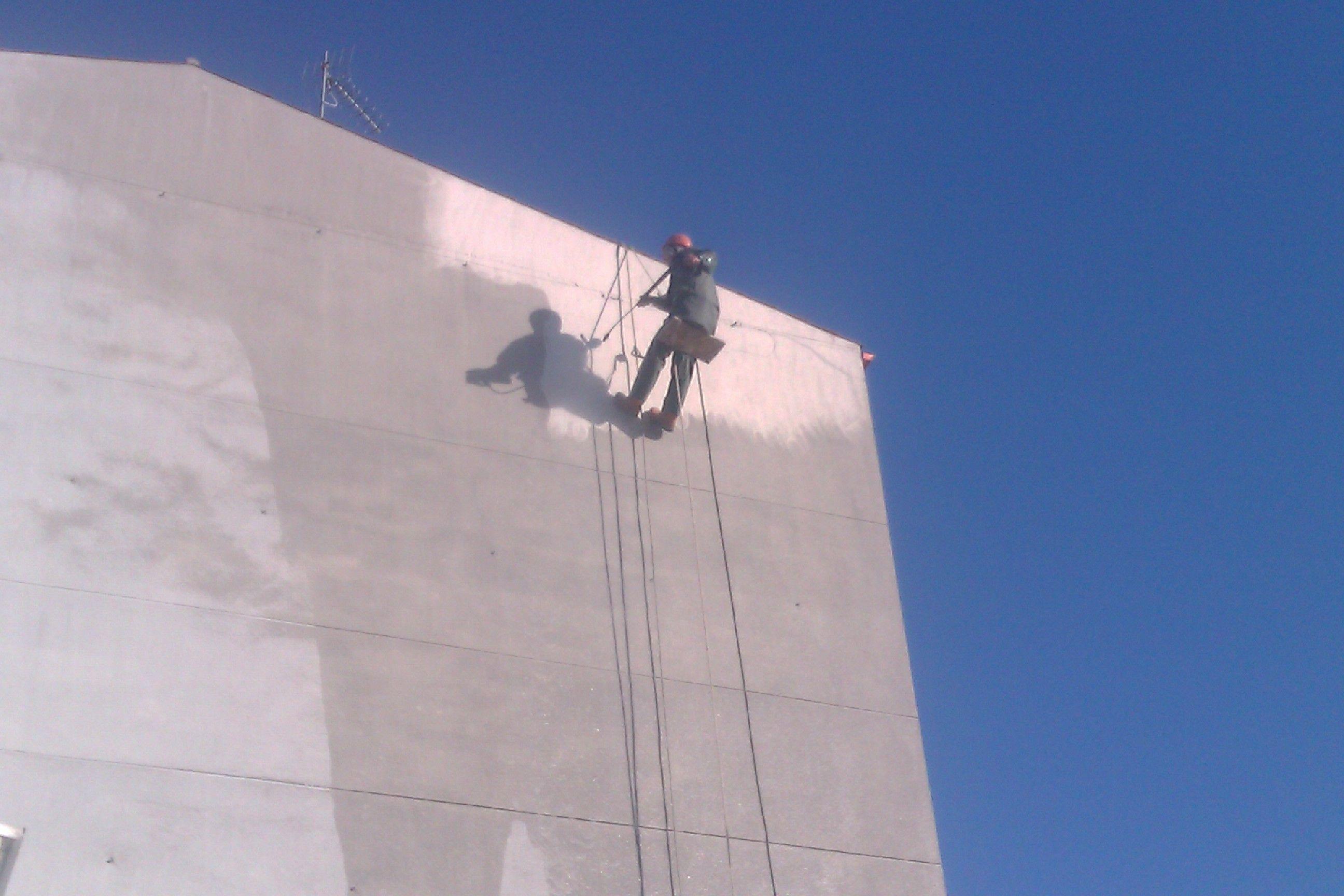 Limpieza de fachada en Vilanova de Arousa
