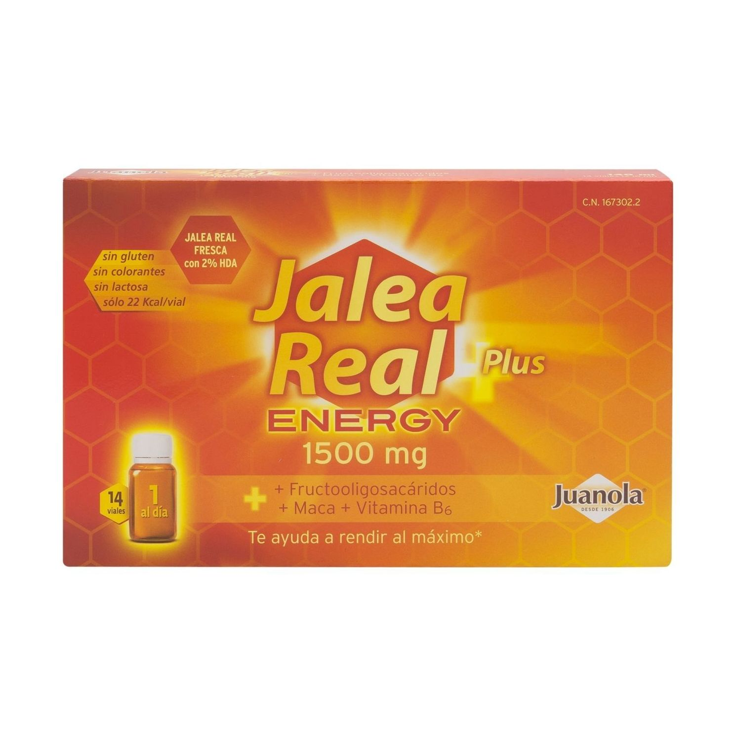 JALEA REAL PLUS ENERGY 1500 MG 28 VIALES }}