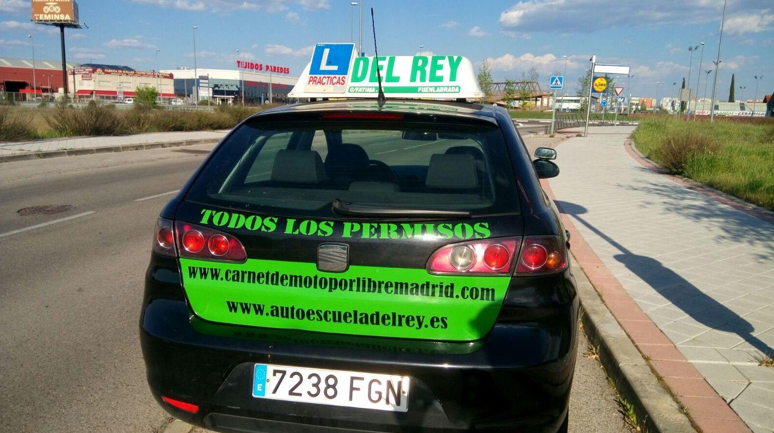 CARNET DE MOTO POR LIBRE MADRID