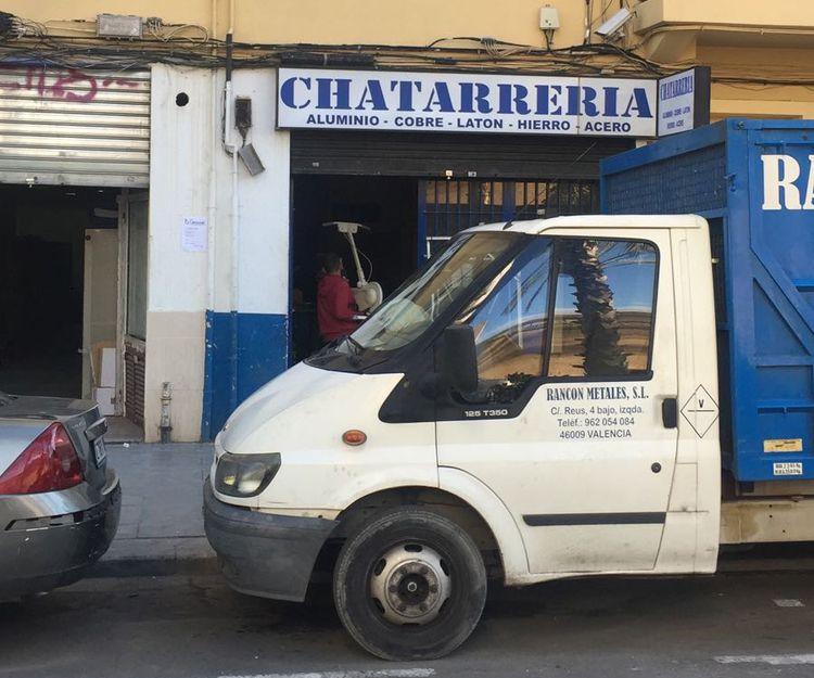 Recogida y venta de chatarra en Valencia