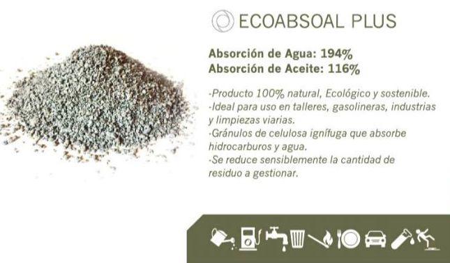 ECOABSOAL PLUS+: Productos y servicios de Serrín Madrid