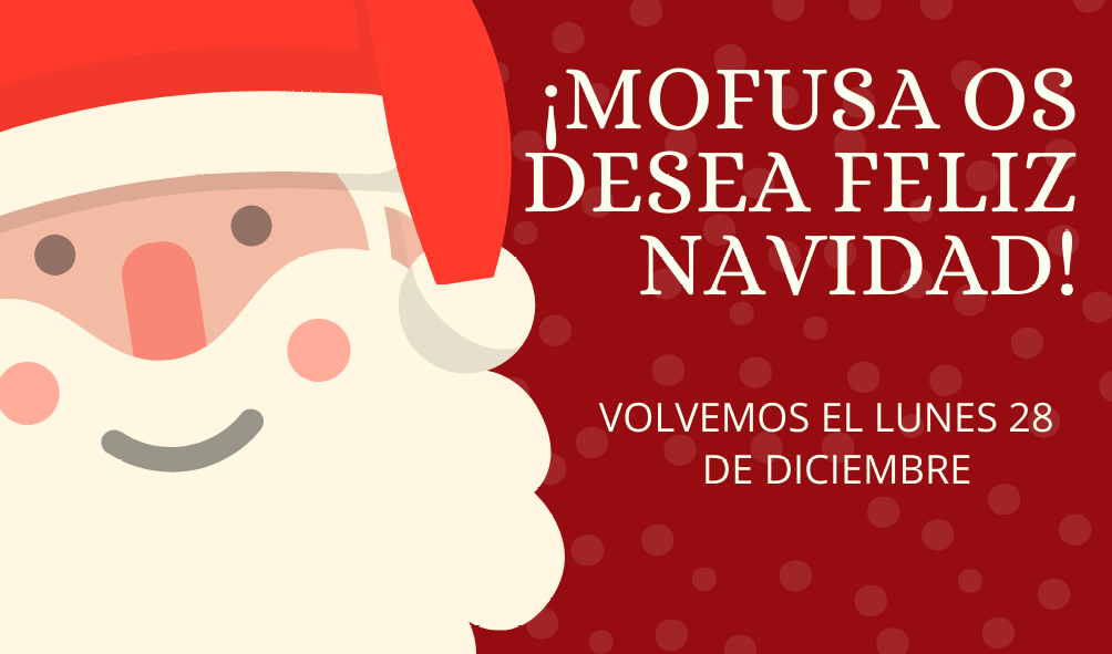 Rojo Vintage Papá Noel Navidad Etiqueta.png