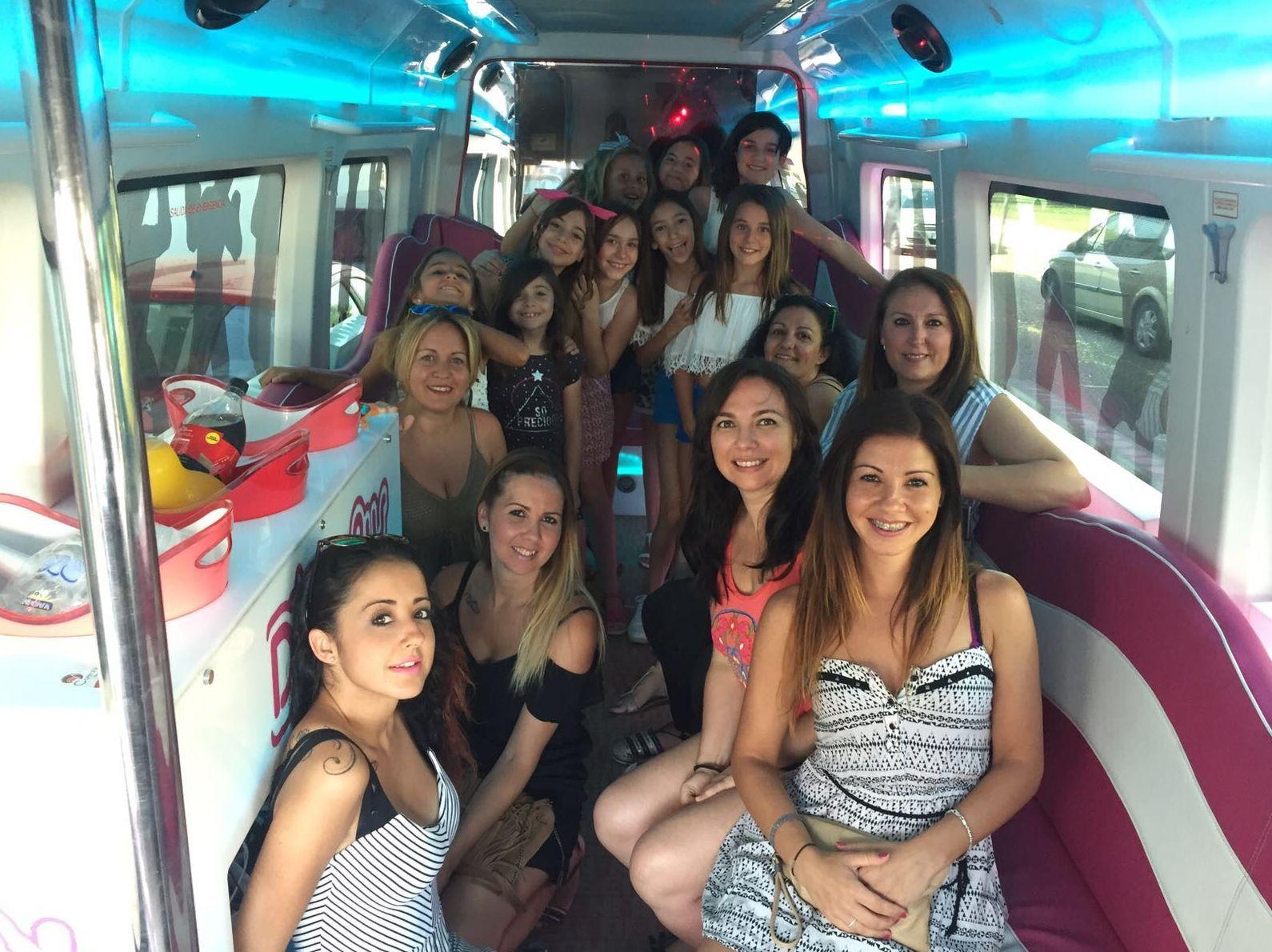 Limo bus Sevilla