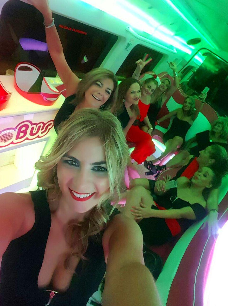 Discobus Sevilla grupo de Mireia Ortiz.