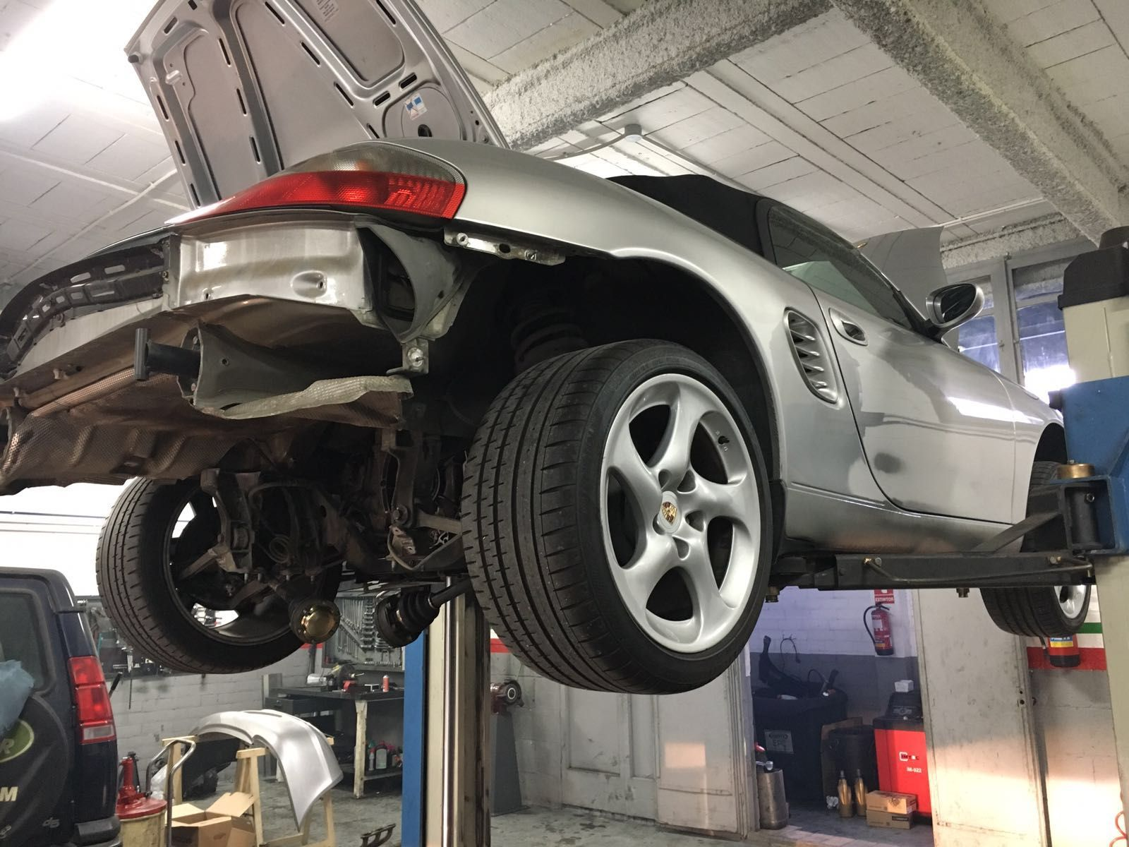 Alineación de dirección: Servicios de Auto Taller JMR 2000