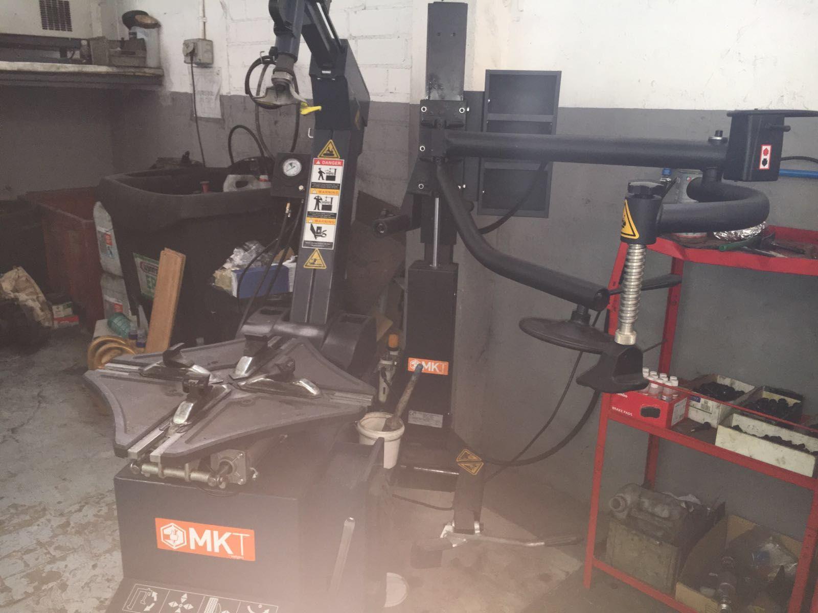 Cambio de neumáticos en Sitges