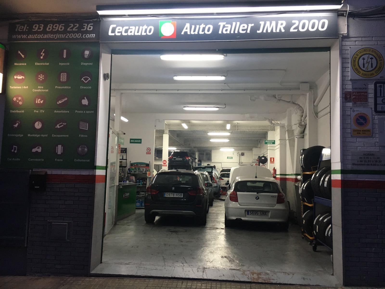 Carga y reparación de aire acondicionado: Servicios de Auto Taller JMR 2000