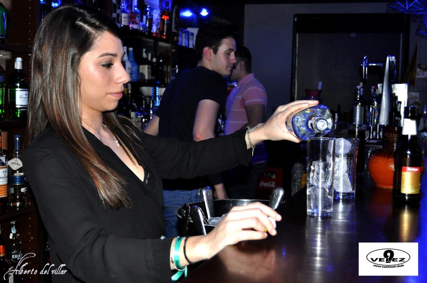 bares de cócteles Mojados