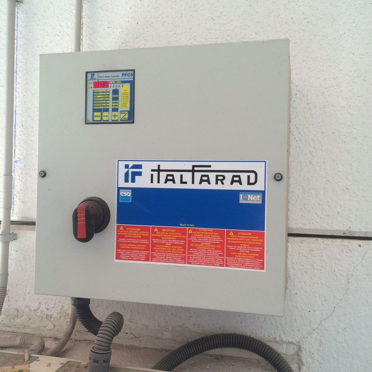 Baterías para la compensación de energía reactiva