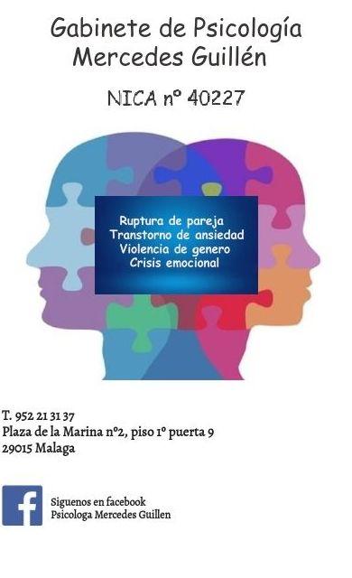 Foto 1 de Psicólogos en Málaga | Gabinete de Psicología Mercedes Guillén