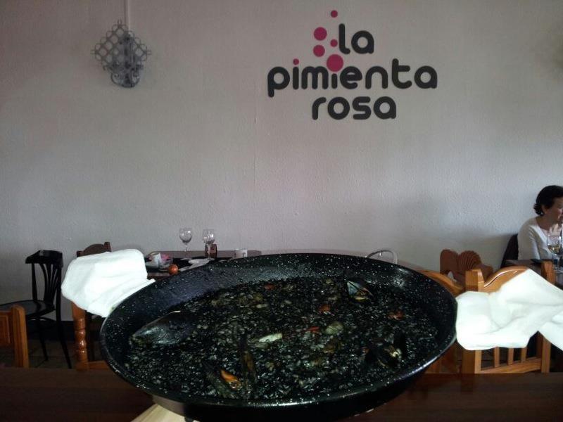 Interior de La Pimienta Rosa
