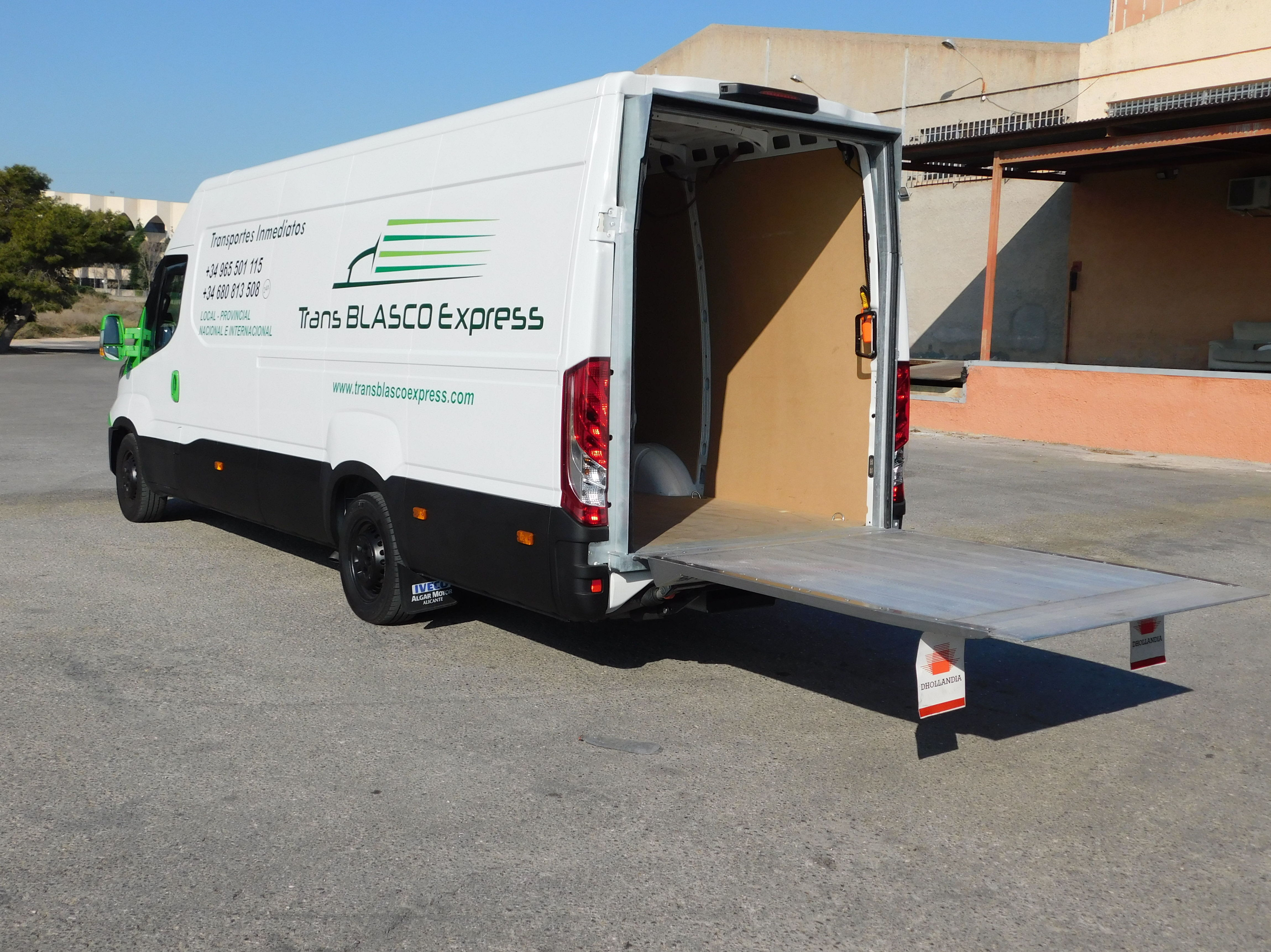 Foto 9 de Agencias de transporte en Alicante | Trans Blasco Express, S.L.