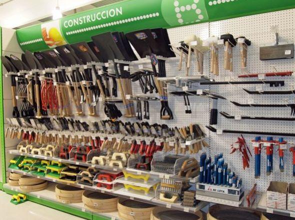 Suministro de herramientas de construcción en Segovia