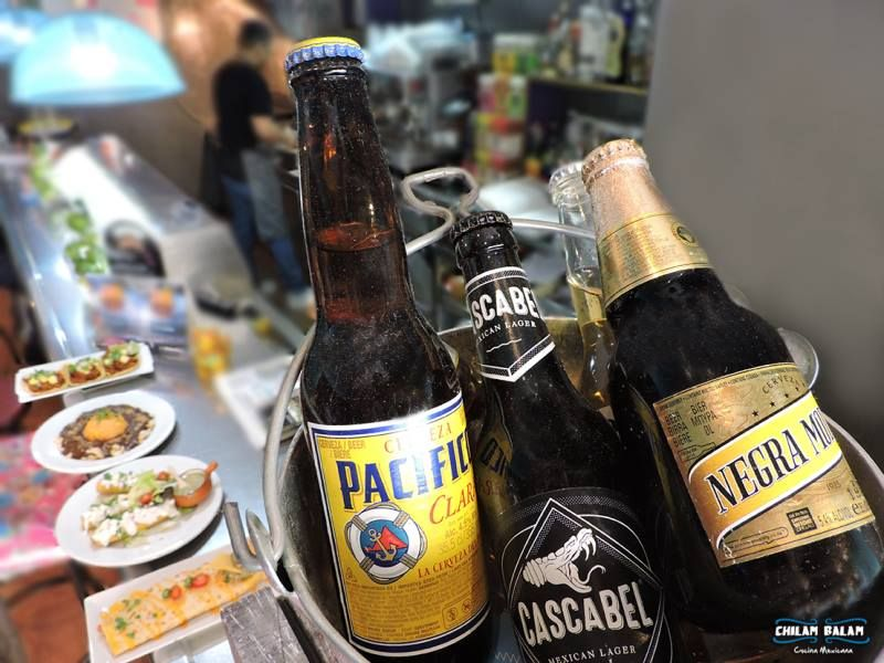 Cerveza: Nuestros platos de Chilam Balam