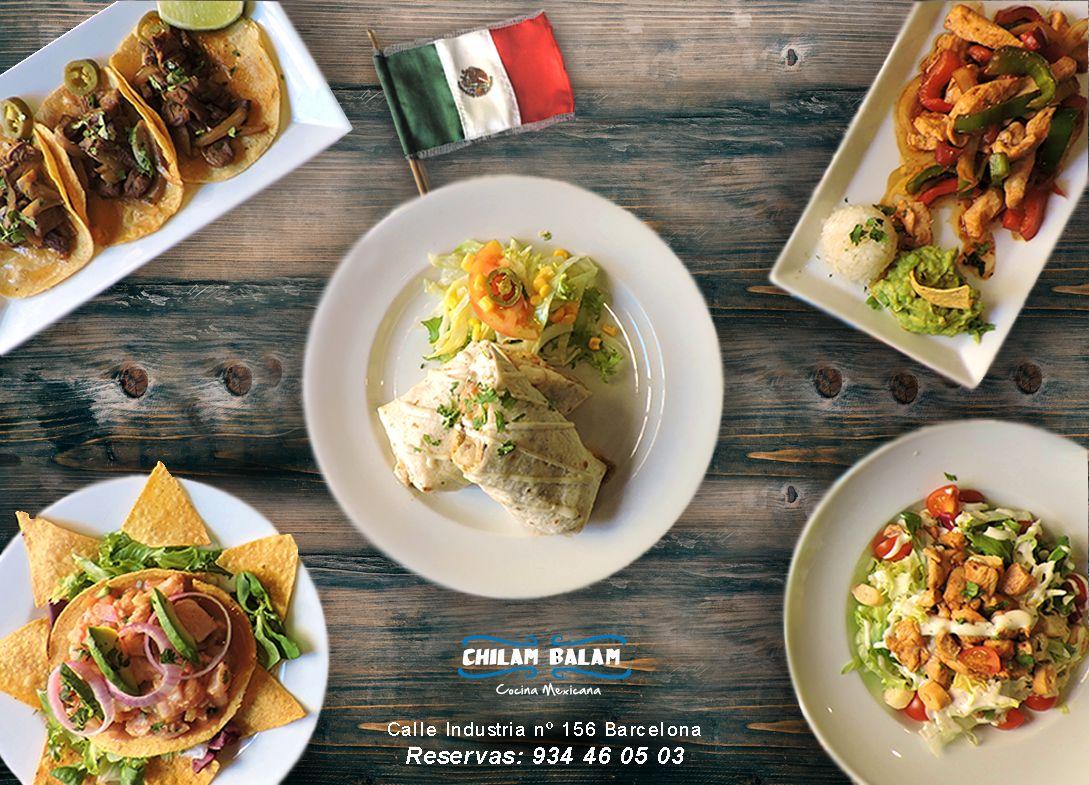 Chilam balam menú: Nuestros platos de Chilam Balam