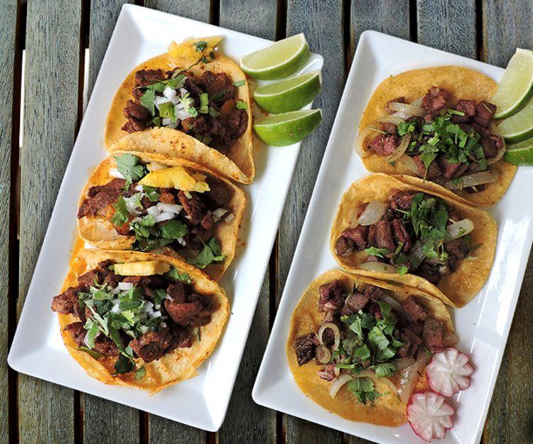 Tacos mexicanos en Barcelona