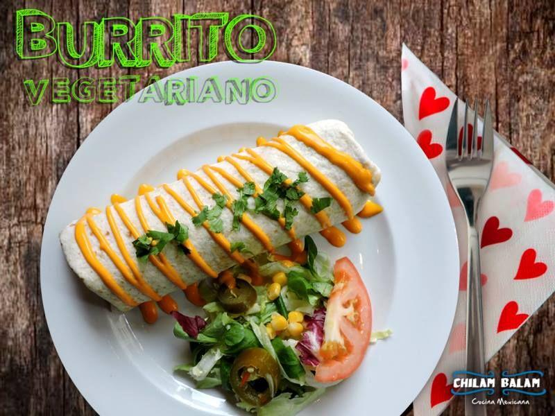 Burritos: Nuestros platos de Chilam Balam