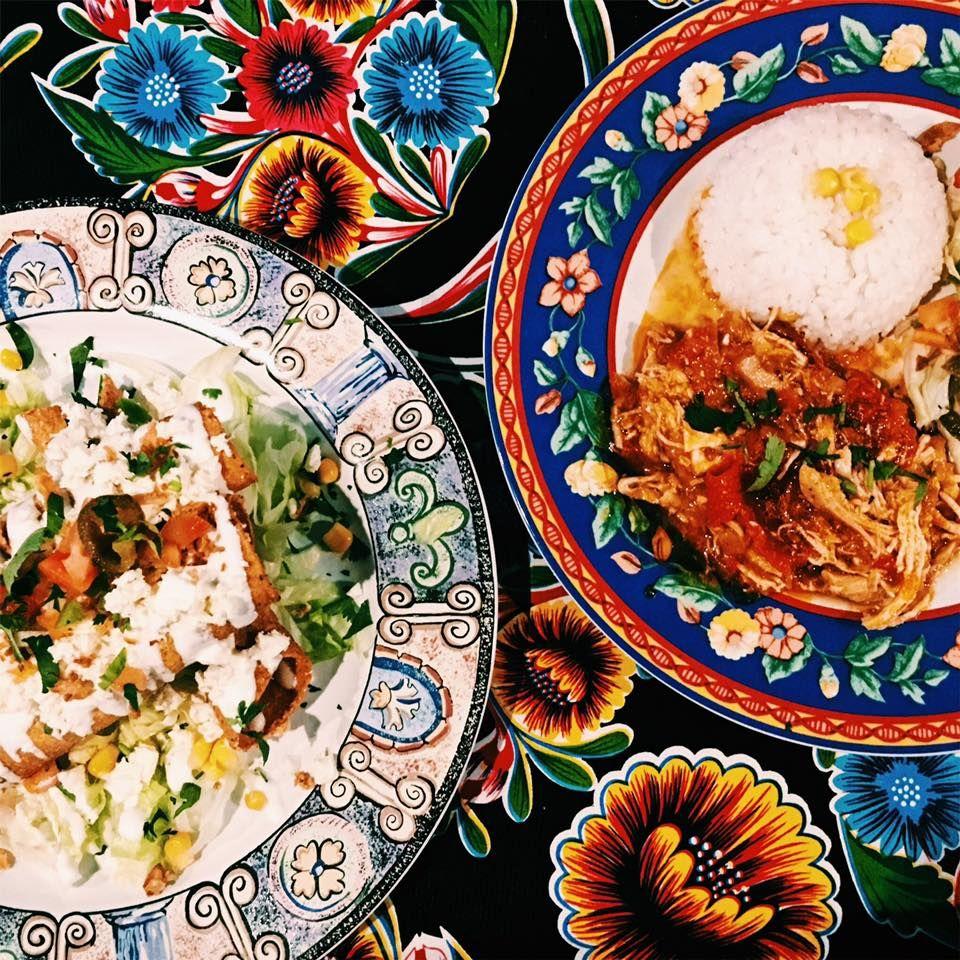 Platos de cocina mexicana en Barcelona