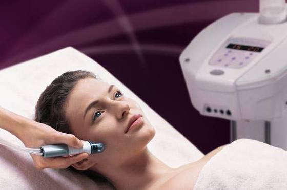 Radiofrecuencia facial   : Servicios   de Pradera Peluqueros