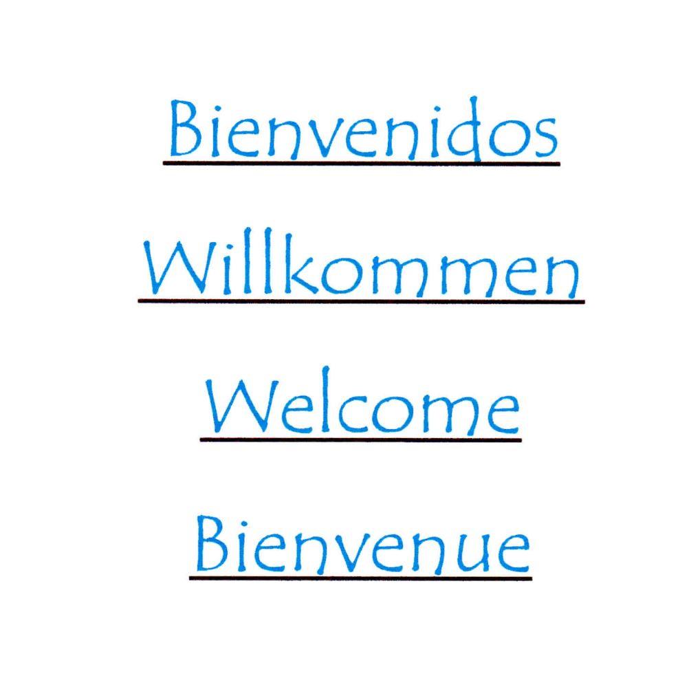 Carta en otros idiomas: Carta de Restaurante Garañones
