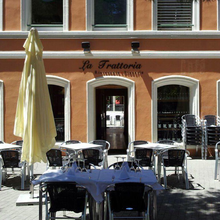 Excelente terraza en La Trattoria en Zaragoza