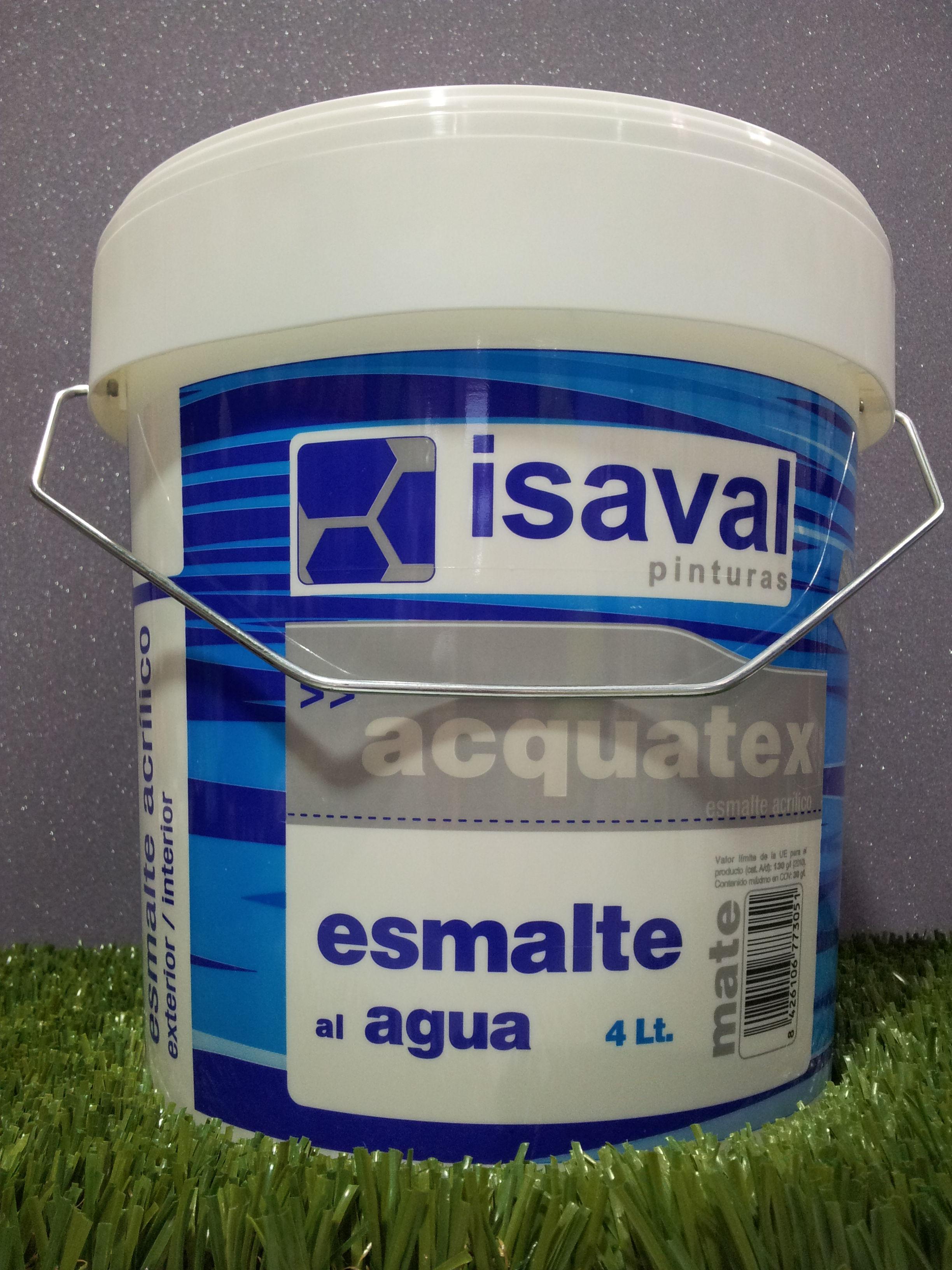 Esmalte al agua ISAVAL Acquatex