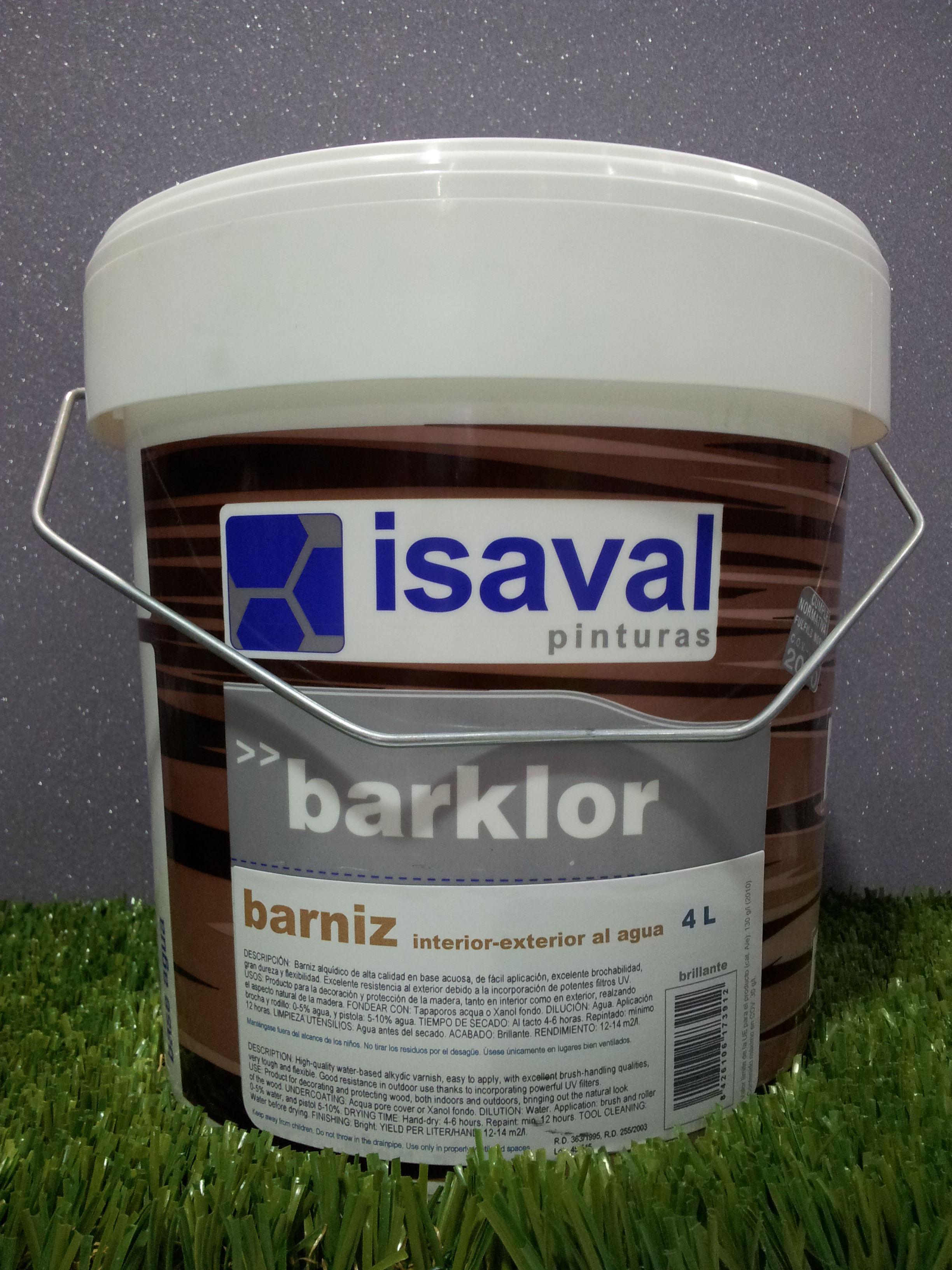 Barniz al Agua ISAVAL Interior-Exterior